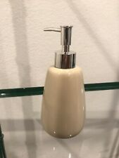 Tan Ceramic Hand Soap Pump