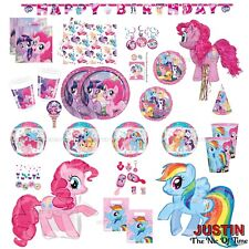 MY LITTLE PONY Girls Birthday Party Supplies Favours Decorations Tableware