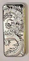 SILVER 3D Dargon Refillable Metal Butane Gas Lighter Cigarette Men Tribal Asia
