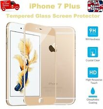Full Rounded Tempered Glass Film Screen Saver Protector For iPhone 7 PLUS GOLD