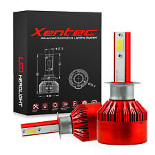 Xentec LED Kit for H1 H3 H4 H7 H10 H11 9006 Headlight Fog Lights 120W 12800lm