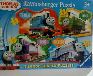 Thomas and friends 4 Large Puzzles NEW