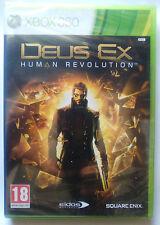 DEUS EX HUMAN REVOLUTION. JUEGO PARA XBOX 360. PAL-ESP. NUEVO, PRECINTADO.