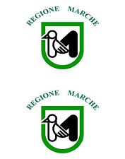 2x sticker Adesivo Adesivi decal macbook Vinyl auto moto bandiera marche italia
