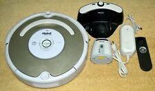 IROBOT ROOMBA MODEL 535 ROBOTIC VACUUM CLEANER WHITE WITH EXTRAS