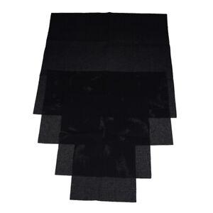 11 CT Aida Cloth Embroidery cloth cotton cross stitch Fabric black Grid cl^dm