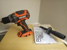 Ridgid Brushless 18v 1/2 Compact Drill/Driver with ALL Accessories R86009 NEW