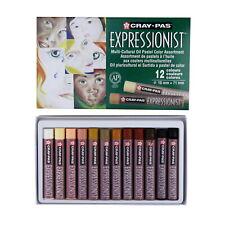 Sakura Cray-Pas Expressionist Multi-Ethnic Oil Pastels, Assorted Skin Tone
