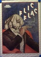 Konzertplakat Flic Flac