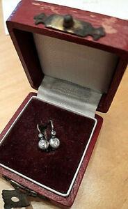 Bouton Gold, Silber, Altschliffdiamanten Original