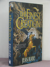 1st,signed by author, Finest 1: The Finest Creation by Jean Rabe (2004)