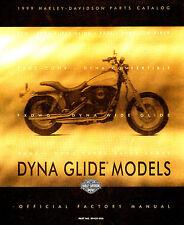 1999 HARLEY-DAVIDSON DYNA MODELS PARTS CATALOG MANUAL -NEW-FXD-FXDX-FXDL-FXDWG