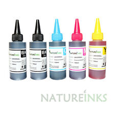 500ml Universal Premium Printer Ink refill bottles kit for empty Ciss cartridge