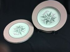 Homer Laughlin Cavalier Eggshell Barclay Pattern 4 Dessert/Bread Plates
