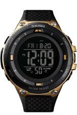 SKMEI Heavy Duty Para Hombre Deporte Digital LED con Fecha Alarma Reloj Impermeable a prueba de impactos