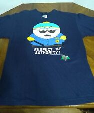 VTG 1998 South Park Cartman Respect My Authority T Shirt Comedy Central