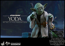 Hot Toys Star Wars Episode V The ESB Yoda 1/6 Scale Figure MISB In Stock