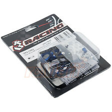 3Racing Motor Mount RM Chassis For Kyosho Mini-Z MR03 1:27 EP RC Car #MR3-10/BU