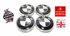 BMW  Carbon Fibre Wheel Centre Caps Badges Set of 4 Fits E34 E36 E39 E46 E60