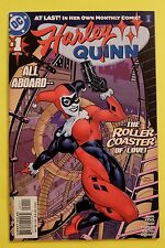Harley Quinn #1 (2000)     NM+(9.6)    1st solo title issue!  **RED HOT**