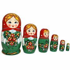 Matroschka Babuschka Matrjoschka Marina  Set aus  6 Puppen Höhe 13cm
