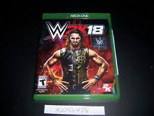 Replacement Case (NO  GAME) WWE 2K18 XBOX ONE 1 XB1 100% Original