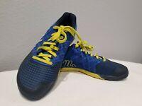 Reebok Mens Crossfit Nano 4.0 Training Shoes Blue Lace Up M43437 Sz 8 / 40.5 EUC
