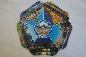 Greetings from Melbourne - Victoria - Australia - Collectable - Postcard.