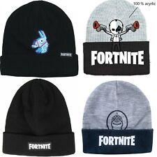 Boys Kids Children Fortnite Warm Winter Hat Size 55cm age approx 9-14 years