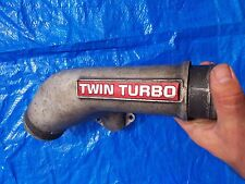 Nissan Skyline GTR RB26 DETT TWIN TURBO EMBLEM PIPE - TWIN TURBO CONVERSION PIPE