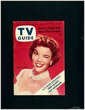 1956 TV Guide - Nanette Fabray - NO LABEL!!!