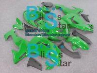 Green INJECTION Fairing Plastic Fit Kawasaki ZX10R 2006-2007 036 A3