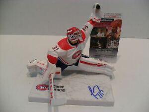 Carey Price Autographed Montreal Canadiens Imports Dragon McFarlane JSA Cert COA