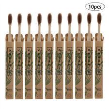 10PCS/Set Bamboo Natural Toothbrush Environmentally Friendly Eco Soft Bristles