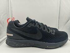 Nike Air Zoom Pegasus 34 escudo Reino Unido 13 negro negro negro obsidiana 907327-001