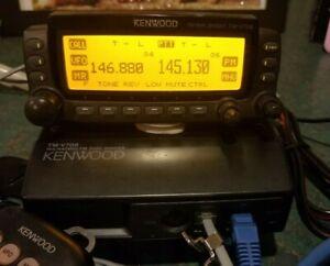 Kenwood TM-V708A Dual Band VHF/UHF Mobile Radio