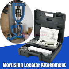 Locator Set of Bench Drill for Mortising Chisels Woodworking Square Hole Machine