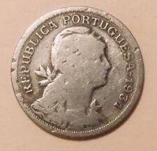 1931 Portugal 50 Centavos Foreign Coin Antique Coin