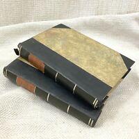 1853 Antico Libro Homer Il Iliad Alexander Pope Flaxman's Disegni Illustrato