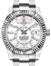 Rolex NEW Sky-Dweller Stainless Steel & 18k Gold 42mm Watch Box/Papers 326934