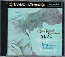 Pierre MONTEUX FRANCK Symphony d-moll STRAVINSKY Petrouchka RCA LIVING STEREO CD