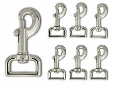 Metal  Square Eye Trigger Snap Clip Swivel Clasp Dog Horse Lead Hook  74mm Long