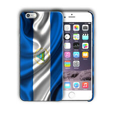 Nicaragua National Flag iPhone 4S 5 5S 5c 6 6S 7 8 X XS Max XR 11 Pro Plus Case
