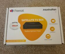 MANHATTAN SX Freesat Satellite Tv Box HD Set Top Box . FREE DELIVERY!!