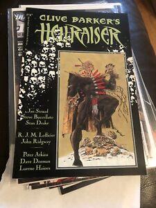 Epic Comics Clive Barker's Hellraiser book #3 Pinhead Premium Format
