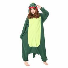 Sazac kigurumi Cosplay Costume Kaiju Monster / Green unisex 165cm-175cm Japan