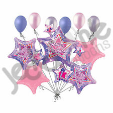 11 pc Rock Star Cluster Happy Birthday Party Balloon Bouquet Music Notes Sing
