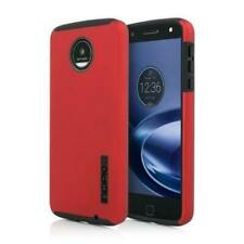 RED Incipio DualPro Double Layer Impact Absorbing Protection Case for Moto Z