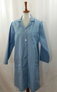 Red Kap Lab Coat size Medium Women's Blue