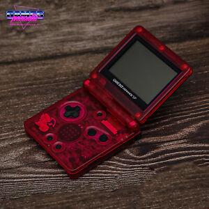 Nintendo Gameboy Advance SP - Konsole - Pokemon Glurak ( Charizard ) Edition